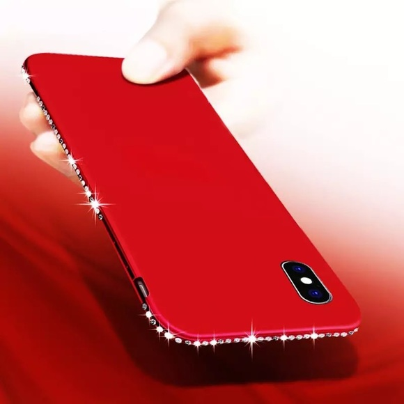 Other - Iphone X Soft Silicone TPU Red Case